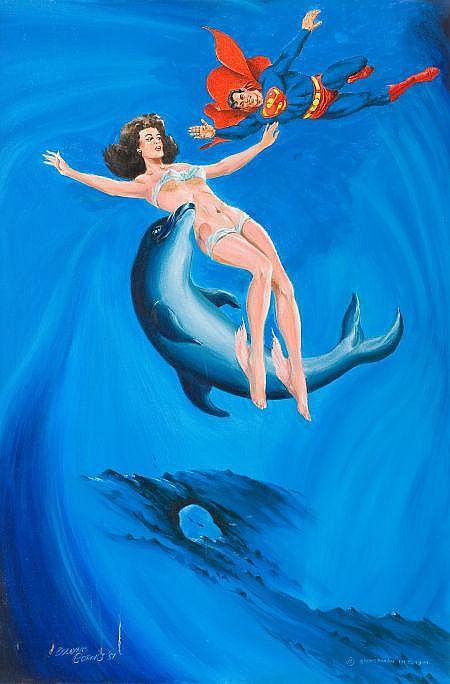 wayne boring artwork for sale at online auction