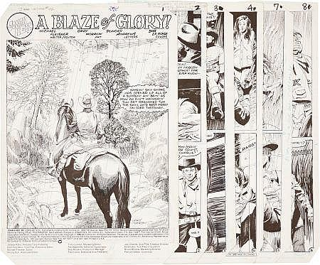 Gray Morrow Jonah Hex #92 Complete 24-page story
