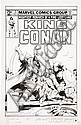 John Buscema King Conan #7 Cover Original Art (Marvel,, John Buscema, Click for value