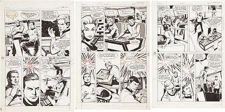 Neal Adams Studio Star Trek Passage to Moauv PR-25 Part