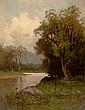 CHARLES HENRY EATON (American, 1850-1901) River's Edge