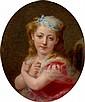 FREDERICK ARTHUR BRIDGMAN (American, 1847-1928) Portrai