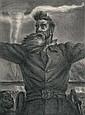 JOHN STEUART CURRY (American, 1897-1946) John Brown (Co