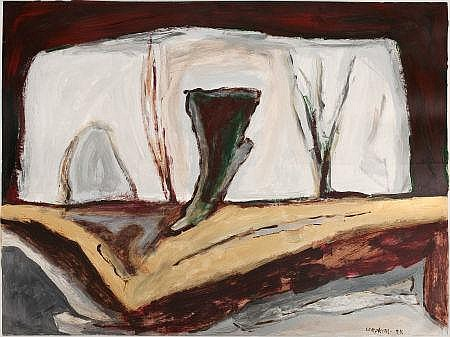 WILLIAM LUMPKINS (American, 1909-2000) Untitled, 1988 A
