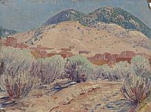 SHELDON PARSONS (American, 1866-1943) Spring Time, Sant