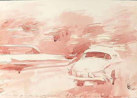 LUIS ENRIQUE CAMEJO (Cuban, b. 1971) Traffic in Motion,