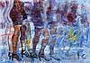 LUIS ENRIQUE CAMEJO (Cuban, b. 1971) Ladies in Line, 20, Luis Enrique Camejo, Click for value