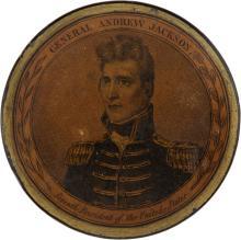 Andrew Jackson: A Superb Papier Mâché Snuff Box Issued