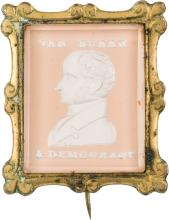 Martin Van Buren: A Stunning 1840 Sulphide Portrait Bro