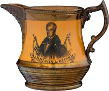 William Henry Harrison: A Very Rare Style of Copper Lus