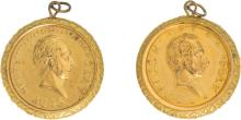 Polk and Clay: A Gleaming Matched Pair of Rare 1844 She