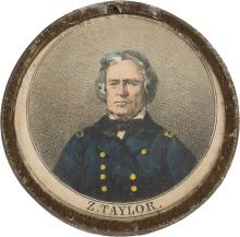 Zachary Taylor: A Most Unusual Pewter Rim Variety. List