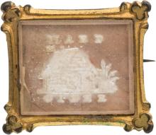 William Henry Harrison: A Very Choice Log Cabin Sulphid