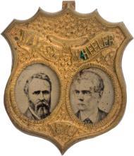 Hayes & Wheeler: Rare Ferro Jugate in Brass Shell Frame
