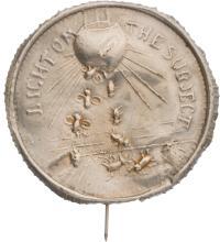 [William McKinley]: Anti-Bryan Silver Bug Stickpin Badg