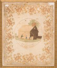 William Henry Harrison: A Beautiful, Colorful 1840 Silk