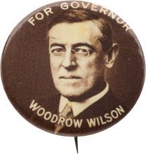 Woodrow Wilson: A Rare 1 1/4