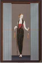 ERTÉ (ROMAIN DE TIRTOFF) (RUSSIAN/FRENCH, 1892-1990) BOUDOIR, 1990 LITHOGRAPH WI