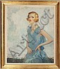 Portrait of Lucille Ball (1931) by Walter G. Ratterman, Walter G. Ratterman, Click for value