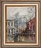 Les Colonnes, Venise (1967) by Regis (Count) de Bouvier, Regis de Bouvier De Cachard, Click for value