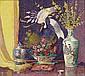 LILLIAN BURK MEESER (American 1864-1942) Still, Lillian Burk Meeser, Click for value