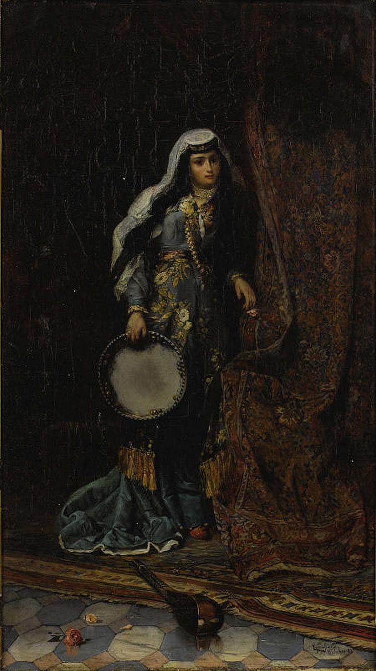 FERENOZ FRANZ EISENHUT (Hungarian 1857 -1903)
