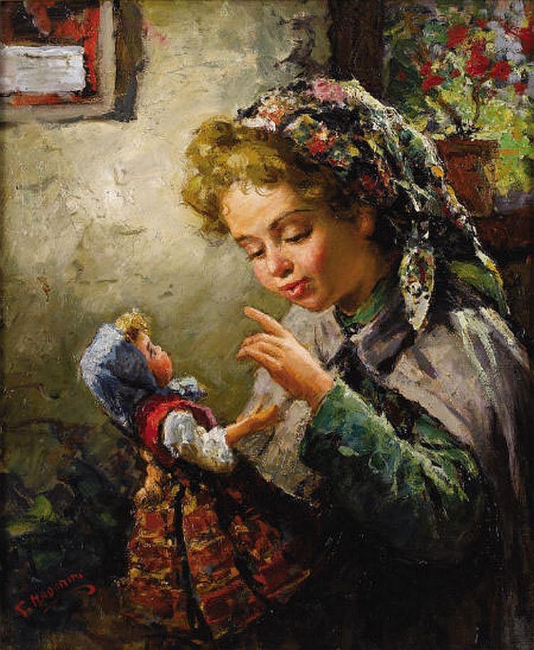 GIOVANNI MADONINI (Italian 1915-1989) La Mia
