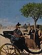 FABIO CIPOLLA (Italian 1854-1914) Arrival at the, Fabio Cipolla, Click for value