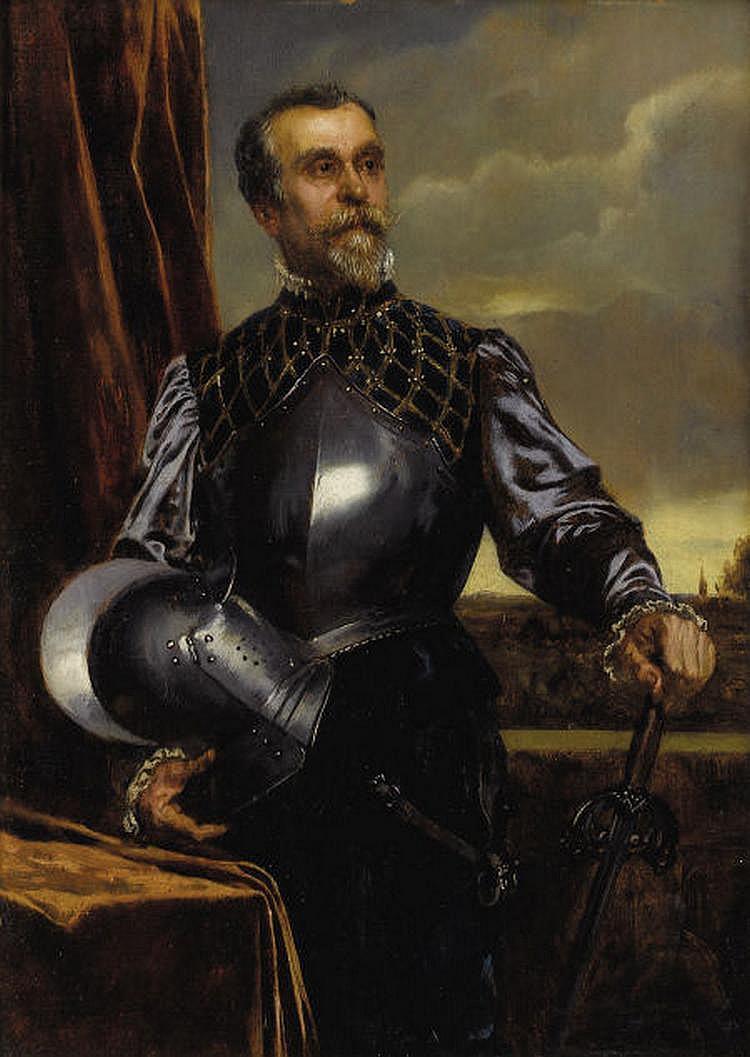 RUDOLF ERNST (Austrian 1854-1932) Portrait of a