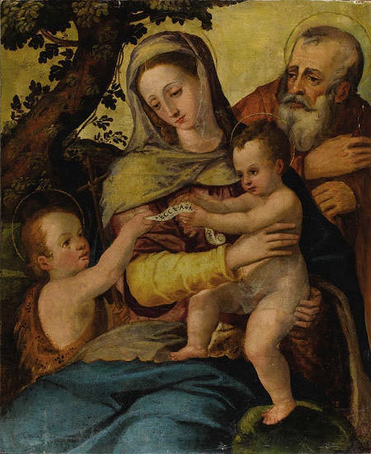 After AGNOLO BRONZINO (Italian 1503-1572) Holy