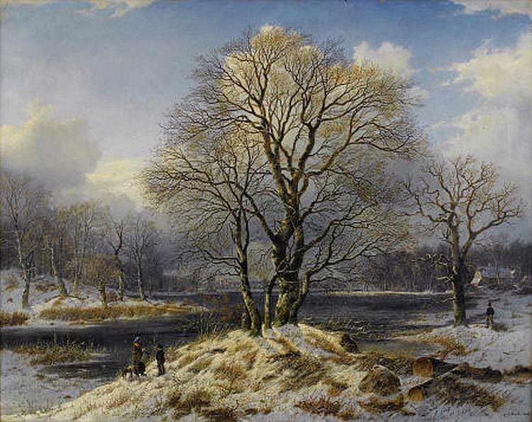 JOHANNES BARTHOLOMAÜS DUNTZE (German 1823-1895)