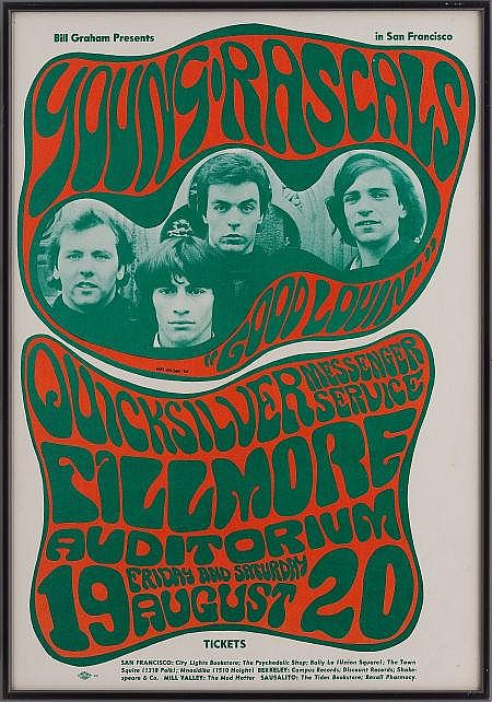 Young Rascals/Quicksilver Messenger Service Fillmore Co