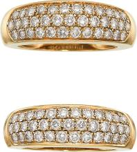 Diamond, Gold Rings, Van Cleef & Arpels, French  The ri