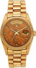 Rolex Gentleman's Gold Day-Date President Watch, circa