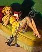 ART FRAHM (American, 1907-1981) Playful Kitten Oil, Art Frahm, Click for value