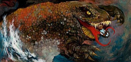 CHARLES BRAGG (American, b. 1931) Leviathan,
