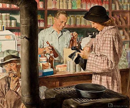 DOUGLAS CROCKWELL (American, 1904-1968) Country