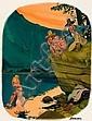 ERICH SOKOL (American, b. 1933) Playboy cartoon, Erich Sokol, Click for value