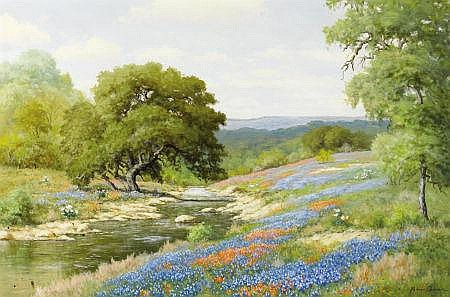 PALMER CHRISMAN (American, 20th Century) April in