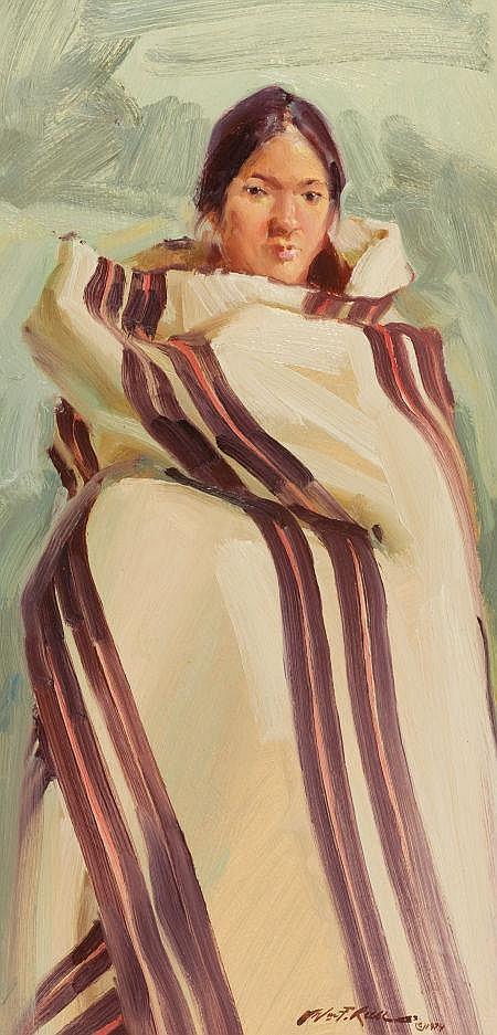 WILLIAM FOSTER REESE (American, b. 1938) Elaine,