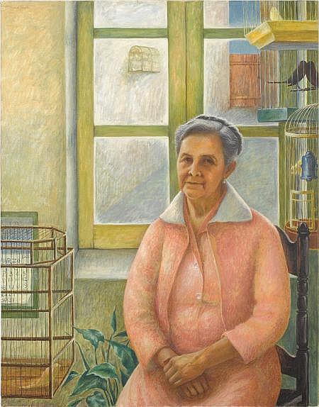MANUEL GREGORIO ACOSTA (American, 1921-1989) La
