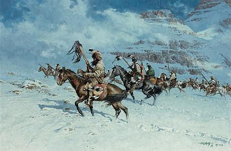 FRANK MCCARTHY (American, 1924-2002) By the Snow