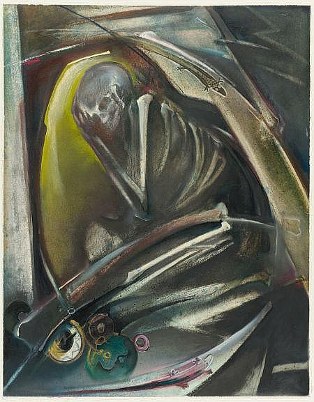 SHARON KOPRIVA (American, b. 1948) Contemplation,