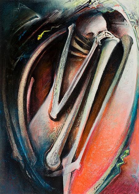 SHARON KOPRIVA (American, b. 1948) Figure in