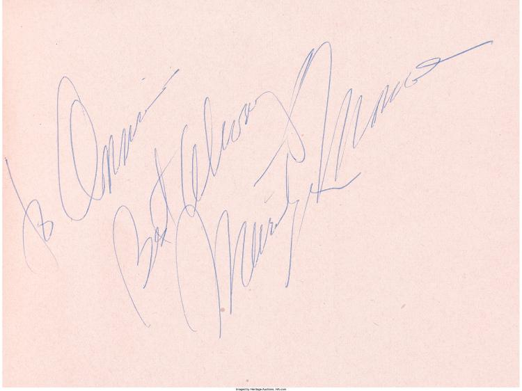 Dick farley autograph