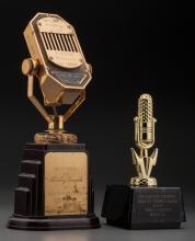 Shirley Temple - Pair of Radio Awards (1938/1995). 12 x
