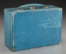 Shirley Temple - Blue Jewelry Box (1939). 7-1/4 x 10 x