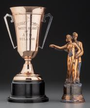 Shirley Temple - Pair of Award Trophies (1940s).  1. A