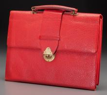 Shirley Temple Red Leather Portfolio (Canada, 1944). 9