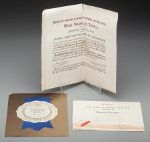 Shirley Temple - Group of Three Award Certificates (194
